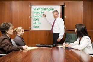 Sales Managers Need to Spend 50% of Their Time Coaching Salespeople