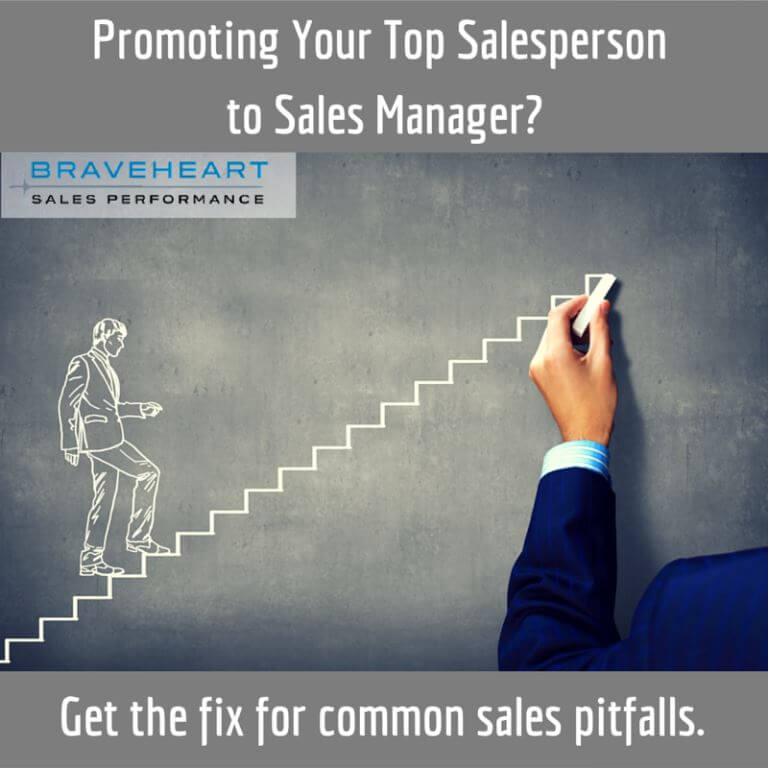 Salesperson Promoted to Sales Manager: Watch Out for This
