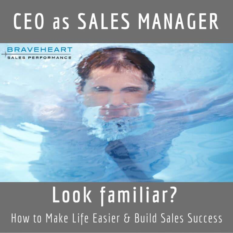 6 Rules to Help the CEO Who Also Manages the Sales Team