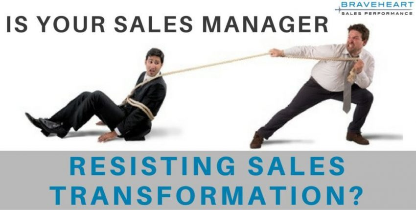 How to Know if A Manager is Sabotaging Your Sales Transformation