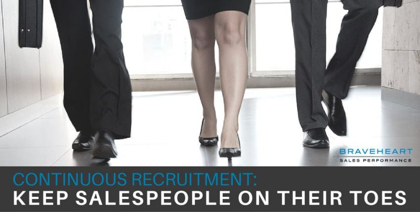 3 Benefits of Continuous Recruitment for Sales