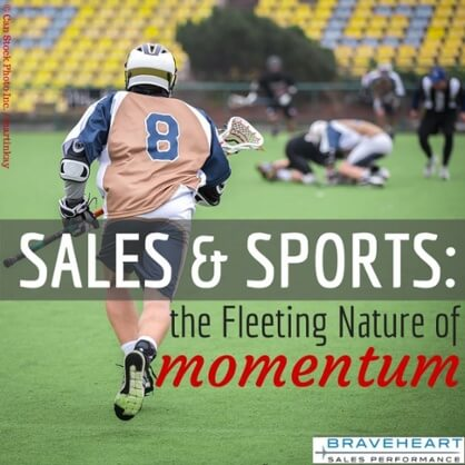 How to Use Momentum Effectively in Sales and Sports