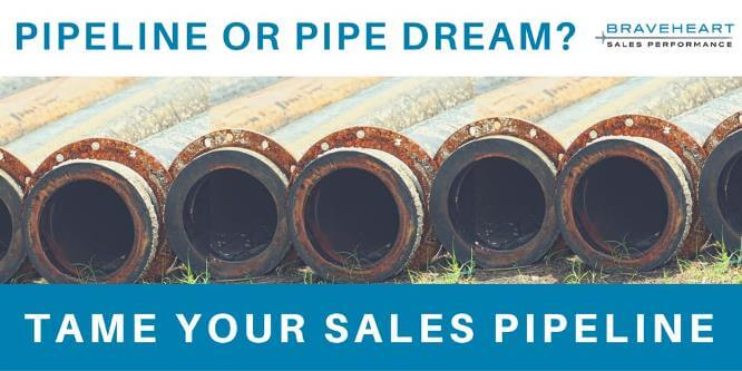 Is Your Pipeline a Pipe Dream? How to Tame Your Sales Pipeline