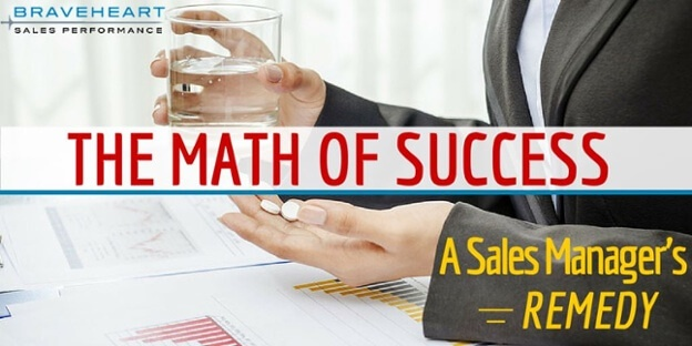 How to Use the Math of Success to Boost Your Team's Sales Results