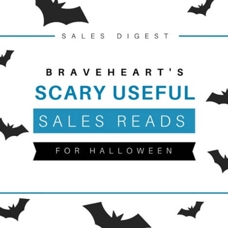 Sales Digest: Scary Useful Reads for Sales This Halloween
