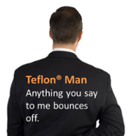 Teflon® Man Improves Success in Sales