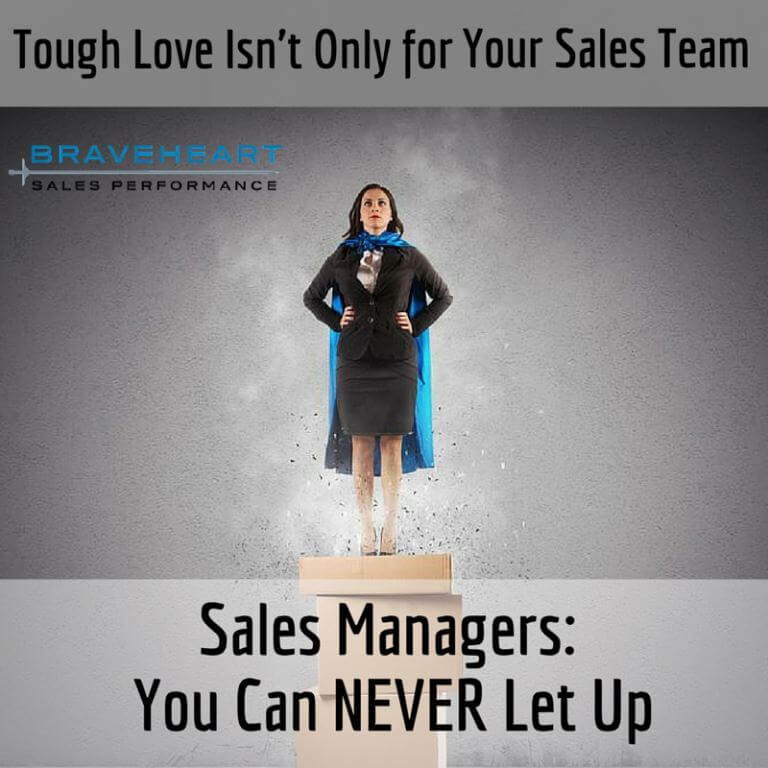 Sales Managers: Never, Ever, Ever Give Up
