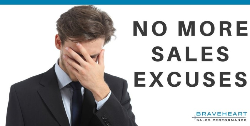 How You Are Killing Your Sales Growth, One Excuse at a Time